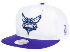 Charlotte Hornets Mitchell   Ness NBA XL Logo Snapback Cap 137b9ea28302