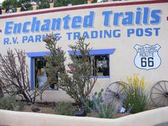 Be sure to give a thought to Enchanted Trails RV Park  we will stay here on our way to vegas
