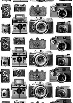 NetAnttila - Vallila Sivuverho Kamera 1x140x240 cm | - musta-valkoinen Marimekko, Illustration, Curtains, Fabrics, Design, Wallpapers, Patterns, Iphone, Sweet