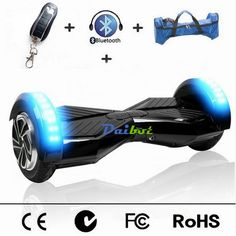 Presenting the stylish range of #Two_Wheel_Hoverboards with the fantastic features of LED lights, music and mobile app control available at #Wooguu These self-balancing #Diabots are rechargeable and electric powered.