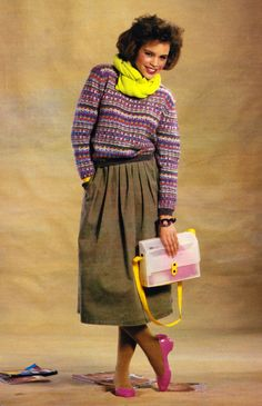This is how dressed in 1985!! Carlo Meconi for Seventeen magazine