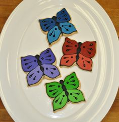 Totally adorable Butterflies and other cookies made to order!