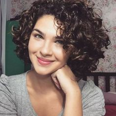 Curly & Wavy Short Hairstyles and