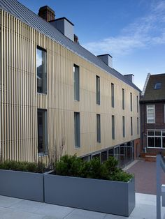 Brighton College by Allies and Morrison Brighton College, Brighton Uk, Beautiful Architecture, Architecture Details, Facade Design, Residential Architecture, School Design, Cladding, Terracotta