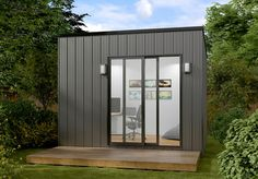 The Instant Room range is a cosy unit that doesn't require a building permit. It is ideal for storage, small offices or retreat rooms for a backyard. Granny Flat, Small Office, Kit Homes, Shed, Floor Plans, Backyard, Range, Building, Outdoor Decor