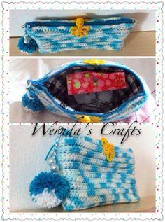 Crochet pensil cover