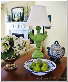 pear green lamp
