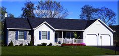 Ranch Home Plan: MADISON       1,632 Square Feet of Living Area     3 Bedroom     2 Bathrooms