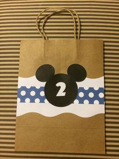 Photo (113) Bolsita para dulces con el motivo de Mickey by Denise Scraps