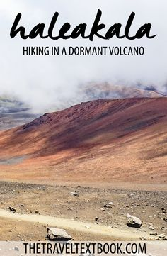 Hiking in Haleakala Crater was a surreal experience. The volcanic crater in Maui, Hawaii is full of amazing trails that leave you feeling like you're on Mars!