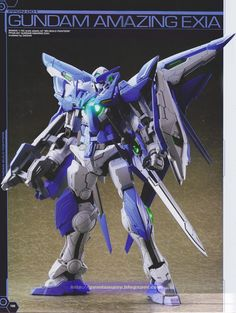 P-Bandai Exclusive: MG 1/100 Gundam Amazing Exia - Customized Build
