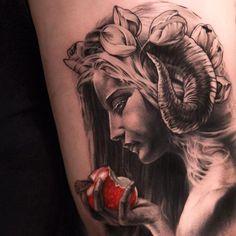 3D Portrait tattoo - 60+ Amazing 3D Tattoo Designs | Art and Design