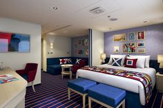 Carnival Vista - Family Harbour Suite Accomoda 5 pax