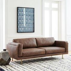 Dempsey Leather Sofa (84