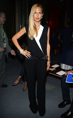 Rachel Zoe from Stars at New York Fashion Week Spring 2015 | E! Online
