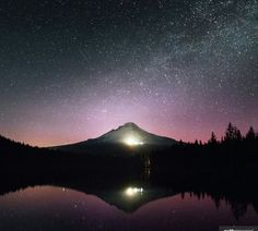 Best Sunset, Mount Rainier, Northern Lights, Mountains, Nature, Travel, Naturaleza, Viajes, Aurora Borealis