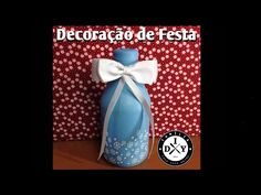 COMO ENCAPAR GARRAFA COM BEXIGA #7 FAMÍLIA DIY - DECORAÇÃO DE FESTA INFANTIL - YouTube