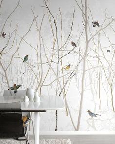 Pattern Jay - Wall Mural & Photo Wallpaper - Photowall