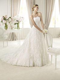 Svatební šaty Pronovias Berlin Svatební Šaty 2013 f02bfb2126