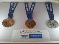 Sochi medals :3
