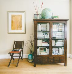 Off shoot photo from Anthology Magazine Issue Photo by Michael Kiser. Bookshelves, Bookcase, Decorating Your Home, Interior Decorating, Book Cabinet, Interior Styling, Interior Design, Cabinet Of Curiosities, Book Storage