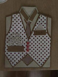 Diy And Crafts, Paper Crafts, Men's Cards, Masculine Cards, Scrapbook, Birthday, Design, Man Card, Tissue Paper Crafts