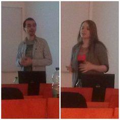 Alexandra Tănasă și Mihai Aperghis, invitaţi la  cursul de Strategii de comunicare digitală, se ocupă cu crearea de strategii şi campanii de PR. http://www.vertify.ro/