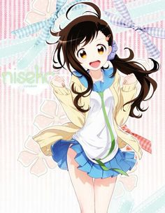 Beneath the Tangles Anime Neko, Kawaii Anime, Anime Manga, Anime Art, Hot Anime, Pretty Anime Girl, Beautiful Anime Girl, I Love Anime, Nisekoi