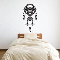 Zelda Triforce Dreamcatcher Vinyl Wall Art Decal Vinyl Revolution http://www.amazon.com/dp/B00I2Q1J36/ref=cm_sw_r_pi_dp_IQs2tb11ZECQQ96C