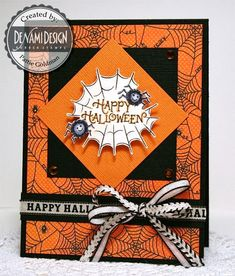 Halloween Spider Web by Pattie G. - Cards and Paper Crafts at Splitcoaststampers