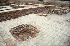 Indus well and paved floor, HR area, Mohenjo-daro, Sindh, Pakistan BCE) Sumerian, Minoan, India Palace, Underground Drainage, Harappan, Mohenjo Daro, Indus Valley Civilization, Ancient Civilizations, Indian Art