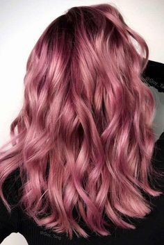 Trends 2018 Gold Rose Hair Color : Breathtaking Rose Gold Hair Ideas You Will Fall in Love With Instantly See m