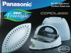 Panasonic NI-WL600 Cordless Multi-Directional Iron Stainless Steel Soleplate NEW #Panasonic