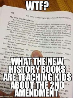 And this is an AP test!Part of Common Core. If children must attend public school, it's now more important than ever to monitor what they're learning and refute dangerous lies and manipulative, confusing tactics. Pro Gun, Ap Test, Are You Serious, Liberal Logic, Shall Not Be Infringed, Bill Of Rights, Gun Rights, Humor, Rage