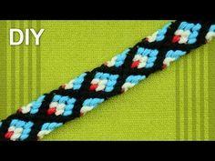 X CROSS Friendship Bracelet / DIY Tutorial - YouTube