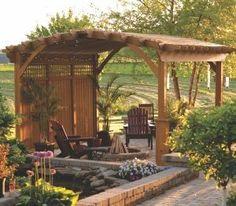 Pavilions and Pergolas - Bosman - Garage Kit, Sheds For Sale, Gazebo Kit, Gazebos For Sale, Garden Gazebo, Home Gazebo, Screen Gazebo, Pool Cabana, Outdoor Patio Furniture