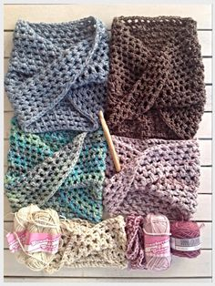 Free Crochet Pattern: Twisted Scarf