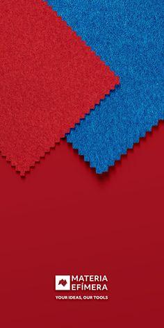 Combinación de moqueta ferial color azul ducados con rojo para stands, ferias, congresos y eventos. #Your💡our🛠️ #moquetaparastands #carpetforfairs #moquetaferial #moodboard #diseñodestands #bluecarpet #moqueta #moquetaazul #moquetaazulducados #yourideasourtools