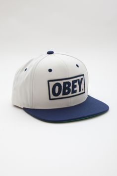95d06a95acd OBEY CLOTHING - OBEY ORIGINAL HAT DigitalThreads.co Tomboy Style