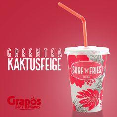 Süßer Grüntee Kaktusfeige von unserem steirischen Getränkepartner Grapos. #graposspringcollection The Originals, Drinks, Figs, Drinking, Beverages, Drink, Beverage, Cocktails