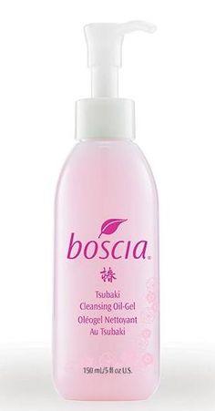 boscia tsubaki cleansing oil gel #skincare