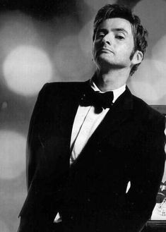 """The Doctor in a Tuxedo David Tennant said he was allowed to keep it after he """"regenerated"""""""