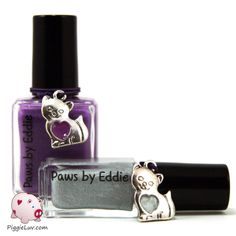 PiggieLuv: Paws by Eddie polishes from Defiance!