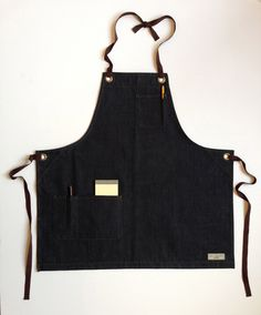Indigo Denim Bib Aprons I Jones of Boerum Hill