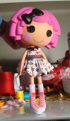 Lalaloopsy Jacks Party Dress by PeppermintPiglets on Etsy, $9.50