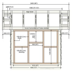plans for 6' x 6' playhouse