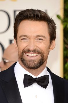 Hugh Jackman Photos - Actor Hugh Jackman arrives at the 70th Annual Golden Globe Awards held at The Beverly Hilton Hotel on January 13, 2013 in Beverly Hills, California. - 70th Annual Golden Globe Awards - Arrivals