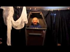 How to Build a Haunted House in your Garage - Link to a whole bunch of how to videos for doing garage haunts.  The video that goes with this pic had some good suggestions for using cloth and tarp instead of 2x4 frames.  Less sturdy but gets the job done.