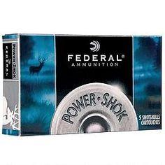 0f4b95a4ff1af Federal Power-Shok 20 Gauge Ammunition 5 Rounds Sabot Slug Feet Per Second  - - 029465027384