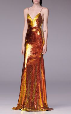 Aldridge Sequin-Embellished Gown by Alex Perry Look Fashion, High Fashion, Embellished Gown, Sequin Gown, Alex Perry, Satin Dresses, Dress To Impress, Beautiful Dresses, Designer Dresses